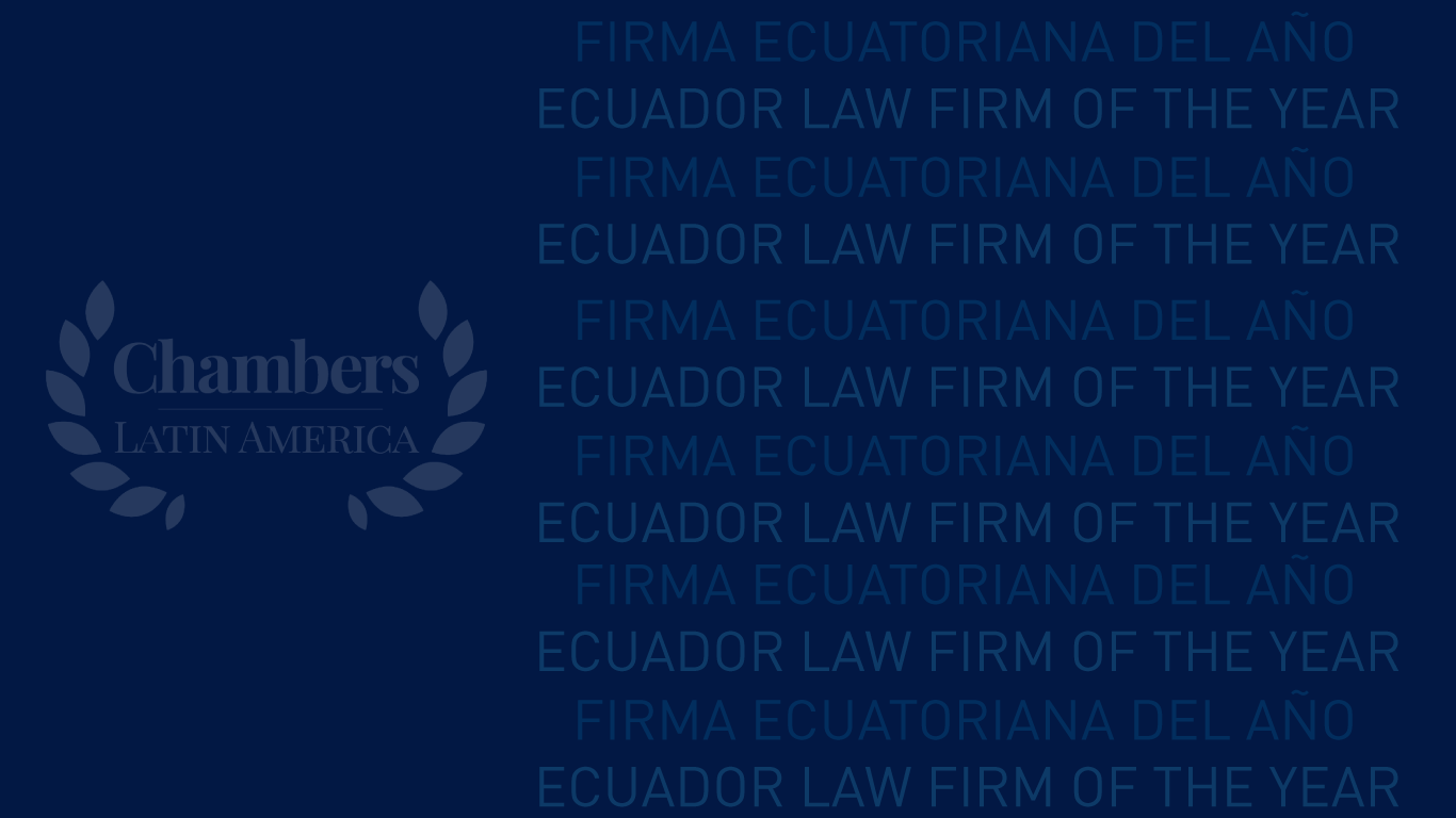 PBP | Ecuador Law firm of the Year 2019